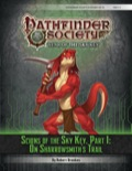 Pathfinder Society Scenario #6–12: Scions of the Sky Key, Part 1: On Sharrowsmith's Trail (PFRPG) PDF