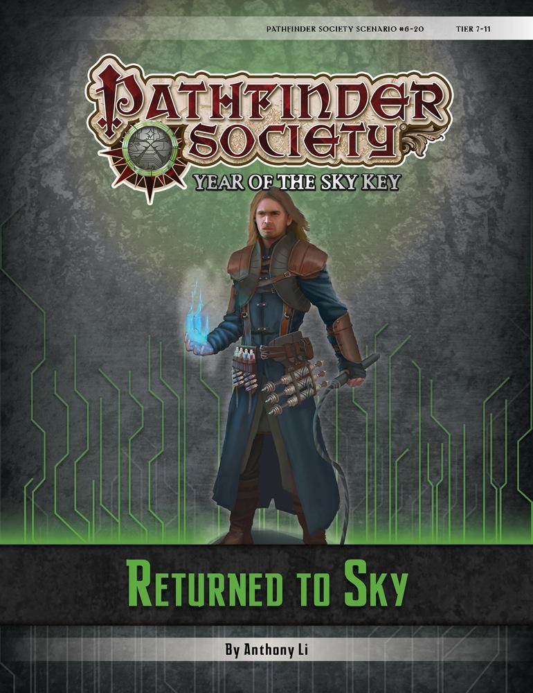 Cover of Pathfinder Society Scenario #6–20: Returned to Sky