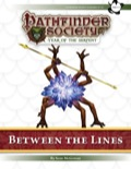 Pathfinder Society Scenario #7–01: Between the Lines (PFRPG) PDF