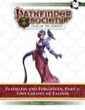 Pathfinder Society Scenario #7–16—Faithless and Forgotten, Part 2: Lost Colony of Taldor (PFRPG) PDF