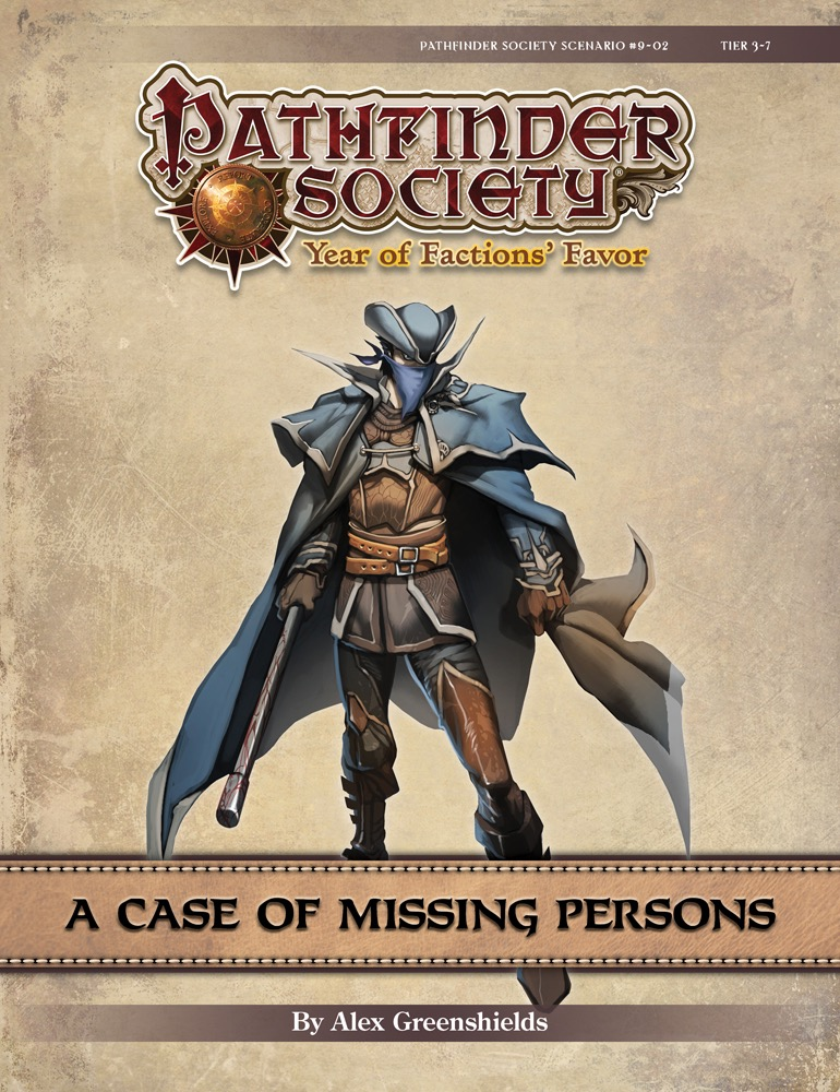 Pathfinder Society #9-02: A Case of Missing Persons