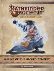 Pathfinder Society Scenario #9-12: Shrine of the Sacred Tempest PDF