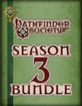 Pathfinder Society Scenario—Season 3 PDF Bundle