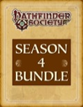 Pathfinder Society Scenario—Season 4 PDF Bundle