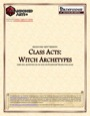 Class Acts: Witch Archetypes (PFRPG) PDF