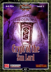 A1: Crypt of the Sun Lord (PFRPG) PDF
