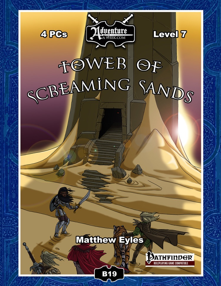 Cover of Tower of Screaming Sands