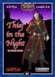 B8: Thief in the Night (PFRPG) PDF