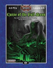 B9: Curse of the Full Moon (PFRPG) PDF
