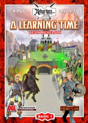 BASIC-1: A Learning Time (PFRPG)