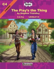 C4: The Play's the Thing (PFRPG) PDF