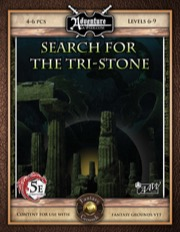 A08: Search for the Tri-Stone (5E / Fantasy Grounds) Download