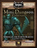 Mini-Dungeon #003: Shrine of the Earth Barons (Fantasy Grounds / PFRPG) Download