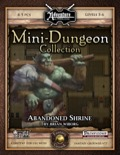 Mini-Dungeon #006: Abandoned Shrine (Fantasy Grounds / PFRPG) Download