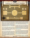 Mini-Dungeon #003: Shrine of the Earth Barons (PFRPG) PDF