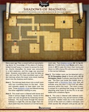 Mini-Dungeon #017: Shadows of Madness (PFRPG) PDF