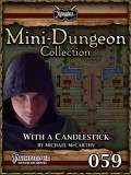 Mini-Dungeon #059: With a Candlestick (PFRPG) PDF