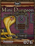 Mini-Dungeon Collection #076: The Great Library (PFRPG) PDF