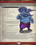 Monster of the Month #3: Varpulis (PFRPG) PDF + Fantasy Grounds