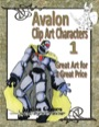 Avalon Clip Art Characters #1: Star Knight PDF