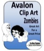 Avalon Clip Art: Zombies PDF