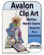 Avalon Clip Art: Mythos Horror PDF