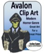 Avalon Clip Art: Modern Horror PDF