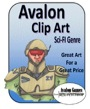 Avalon Clip Art: Sci-Fi Set 1 PDF