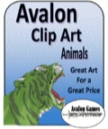 Avalon Clip Art: Animals PDF