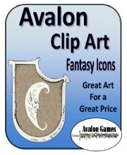 Avalon Clip Art: Fantasy Icons PDF