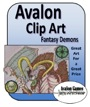 Avalon Clip Art: Demons PDF
