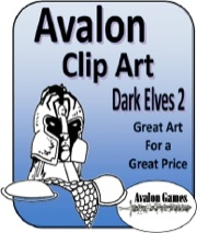 Avalon Clip Art: Dark Elves #2 PDF