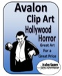 Avalon Clip Art: Hollywood Horror PDF