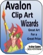 Avalon Clip Art: Wizards PDF