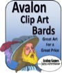 Avalon Clip Art: Bards PDF