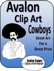Avalon Clip Art: Cowboys PDF