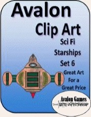 Avalon Clip Art: Starships 6 PDF