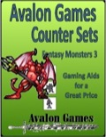 Avalon Counter Sets: Fantasy Monsters #3 PDF