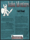 Avalon Adventures—Vol 2, Issue #2: Cold Blood (PFRPG) PDF