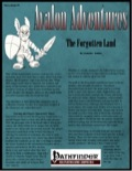 Avalon Adventures—Vol 2, Issue #9: The Forgotten Land (PFRPG) PDF