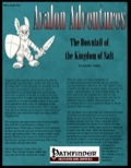 Avalon Adventures—Vol 2, Issue #12: The Downfall of the Kingdom of Sal (PFRPG) PDF