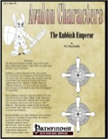 Avalon Characters Vol 1, Issue #9: The Rubbish Emperor (PFRPG) PDF