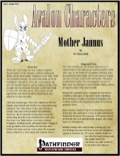 Avalon Characters Vol 1, Issue #12: Mother Jannus (PFRPG) PDF