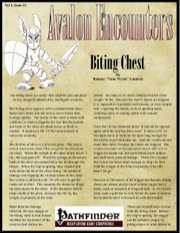 Avalon Encounters—Vol 1, Issue #3: Biting Chest (PFRPG) PDF