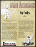 Avalon Encounters—Vol 1, Issue #9: Fey Circles (PFRPG) PDF