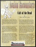 Avalon Encounters—Vol 1, Issue #10: Cult of the Dead (PFRPG) PDF