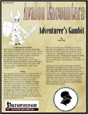 Avalon Encounters—Vol 1, Issue #11: The Adventurer's Gambit (PFRPG) PDF