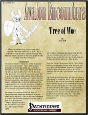 Avalon Encounters—Vol 1, Issue #12: Tree of Woe (PFRPG) PDF