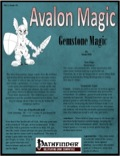 Avalon Magic—Vol 1, Issue #1: Gemstone Magic (PFRPG) PDF