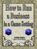 How to Run a Business in Your Game Setting PDF